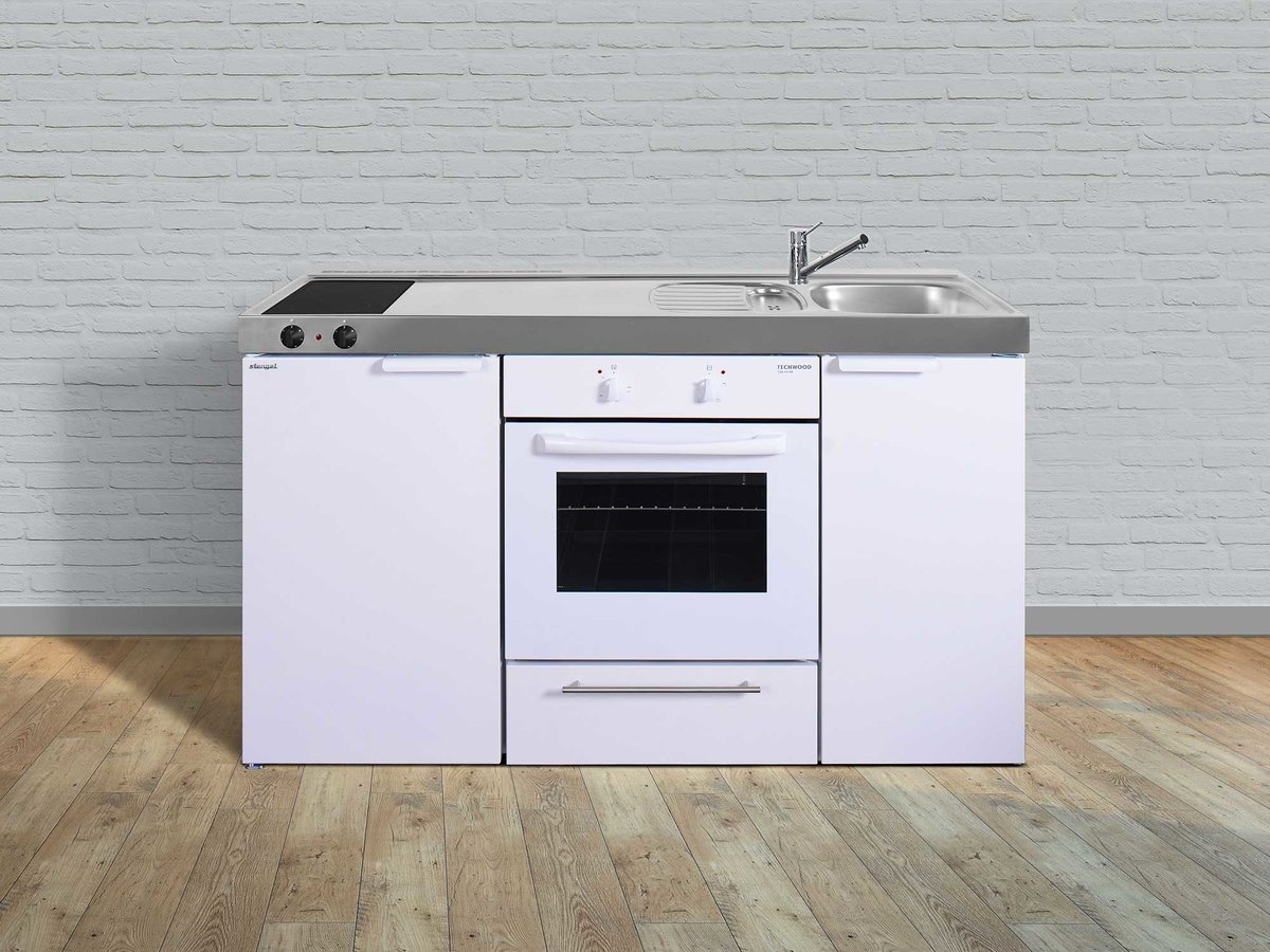 Miniküche Mit Kühlschrank Und Backofen : Stengel singleküche mkb mit backofen kühlschrank