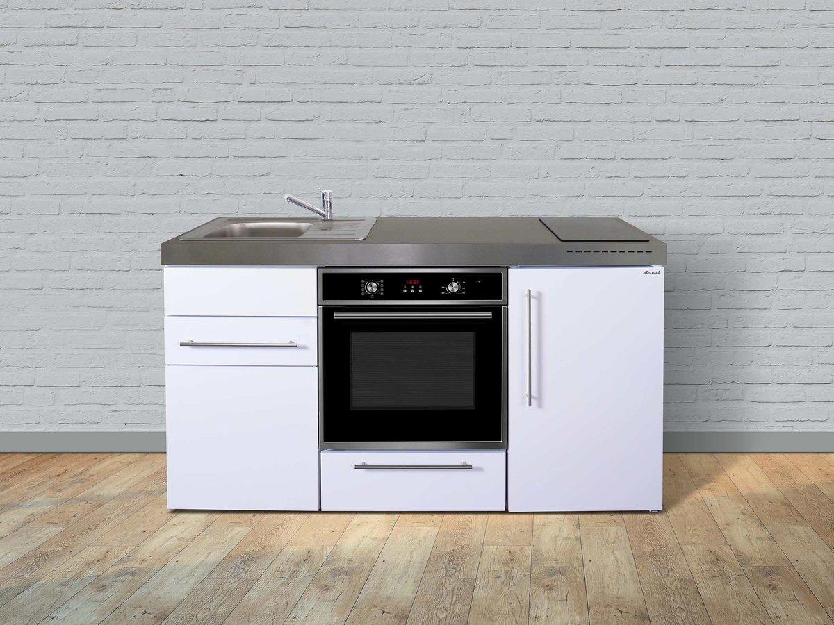Miniküche Mit Backofen Und Kühlschrank : Stengel edelstahl miniküche mpb mit kühlschrank backofen