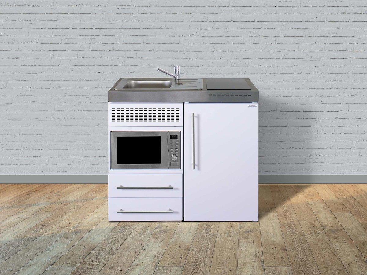 Miniküche Mit Kochfeld Und Kühlschrank : Stengel pantryküche premiumline mpm mit kühlschrank und mikrowell