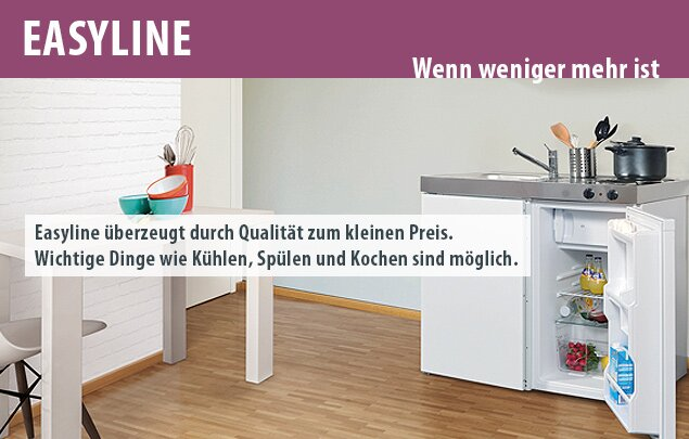 Miniküche Easyline