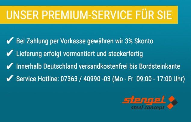 Unser Premium-Service für Sie