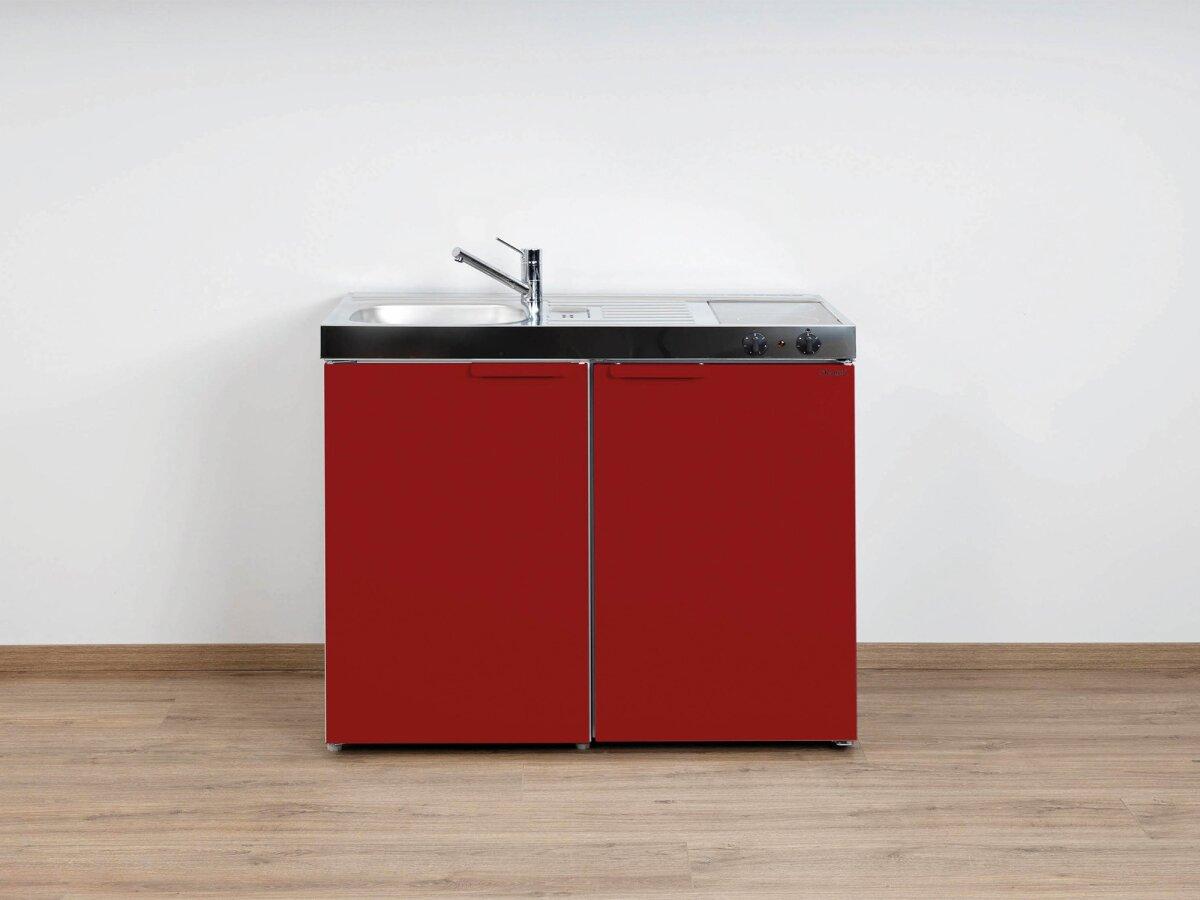 Miniküche 100 Cm Mit Kühlschrank : Stengel singleküche mk 100 aus edelstahl mit kühlschrank