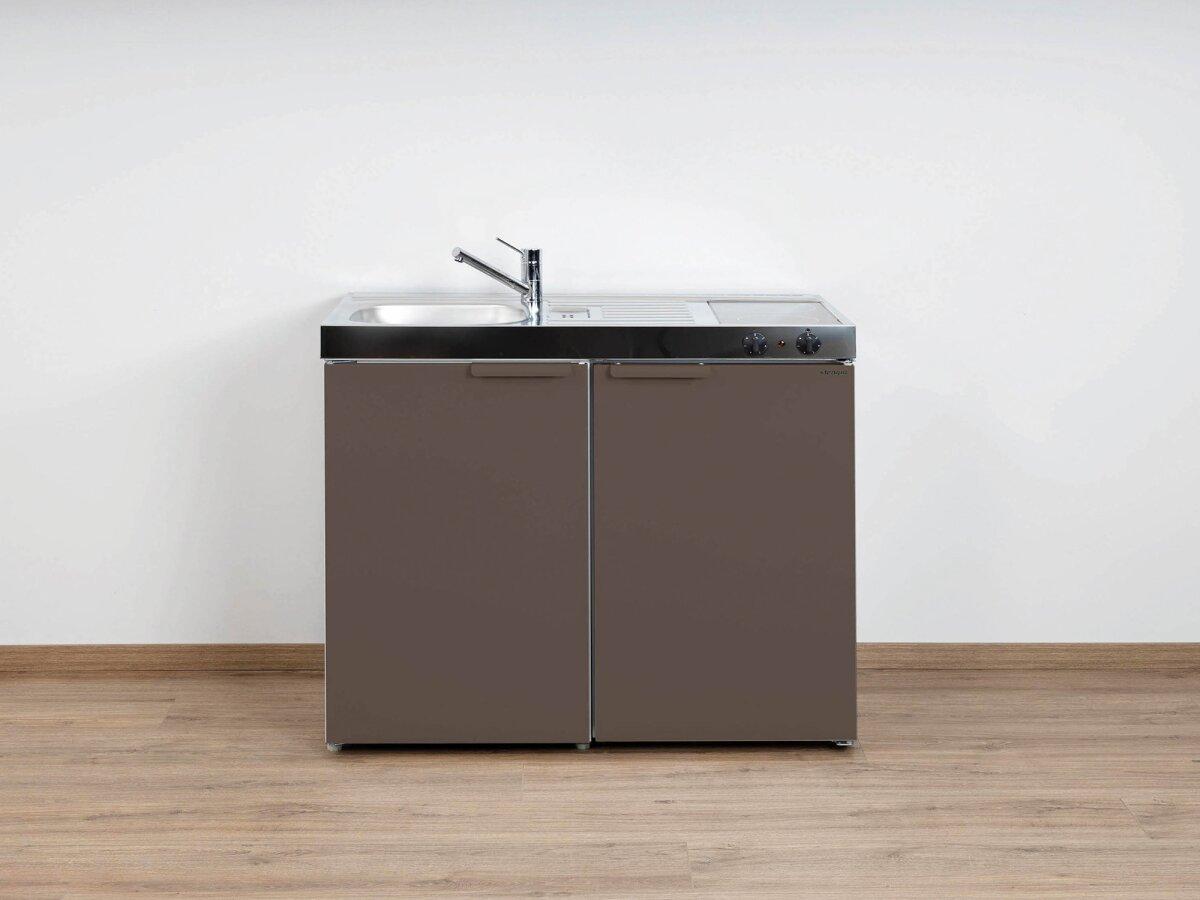 Miniküche Kühlschrank Austauschen : Stengel singleküche mk aus edelstahl mit kühlschrank