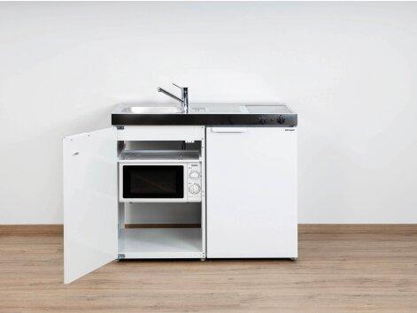 Stengel Miniküche Kitchenline MKM 100 mit Kühlschrank und Mikrowelle