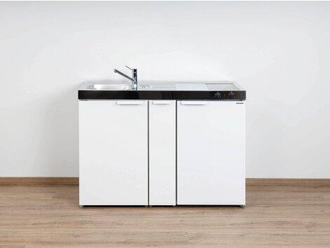 Stengel Miniküche Kitchenline MK 120 A mit Kühlschrank und Ausziehschrank