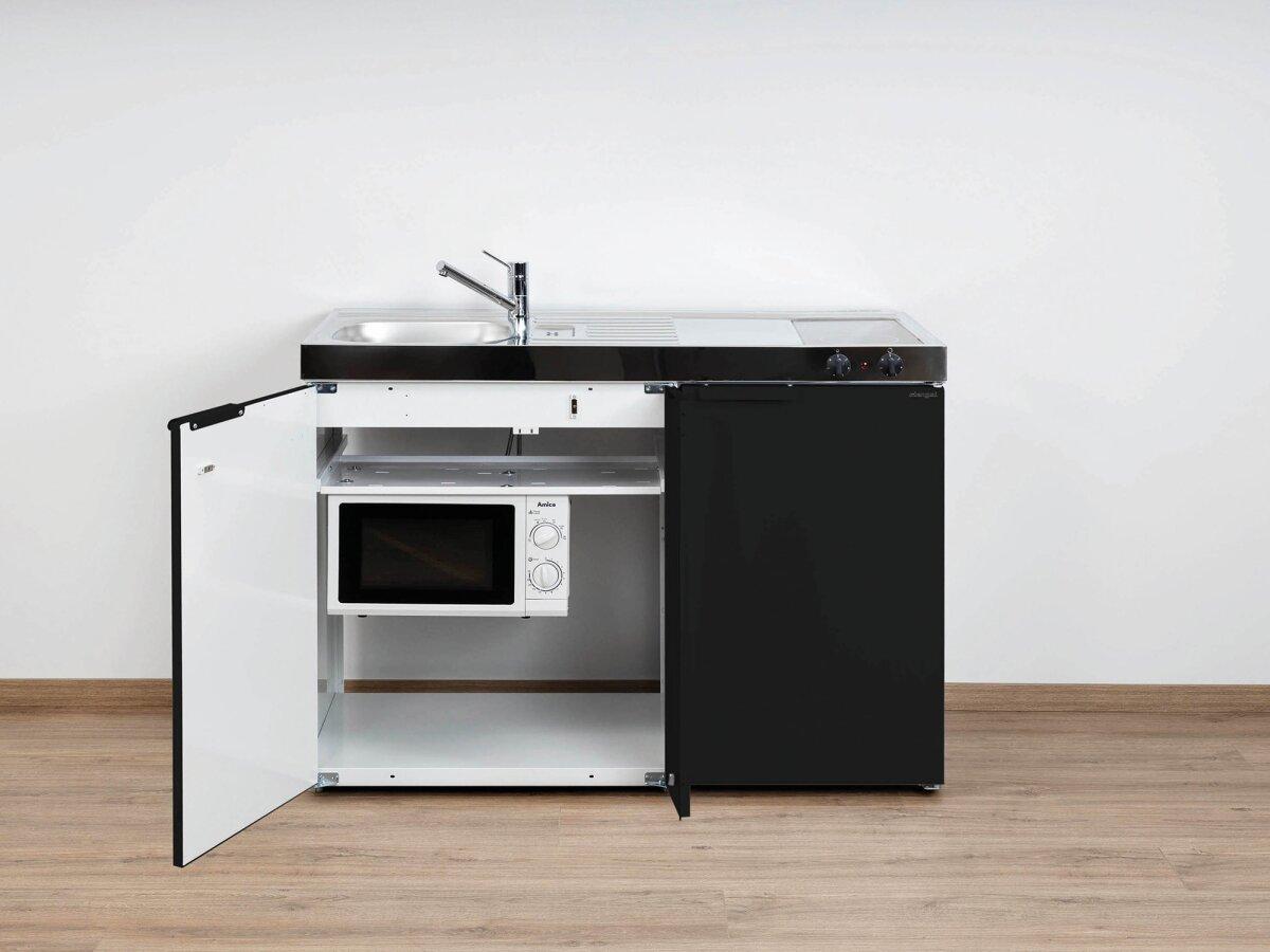 Miniküche Mit Kühlschrank Und Mikrowelle : Stengel singleküche mkm mit kühlschrank mikrowelle