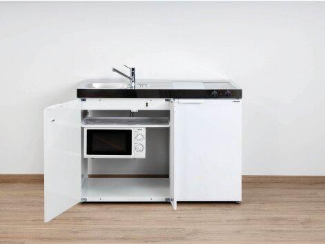 Miniküche Mit Kühlschrank Und Herd 120 Cm : Vielfältige miniküchen aus der stengel kitchenline
