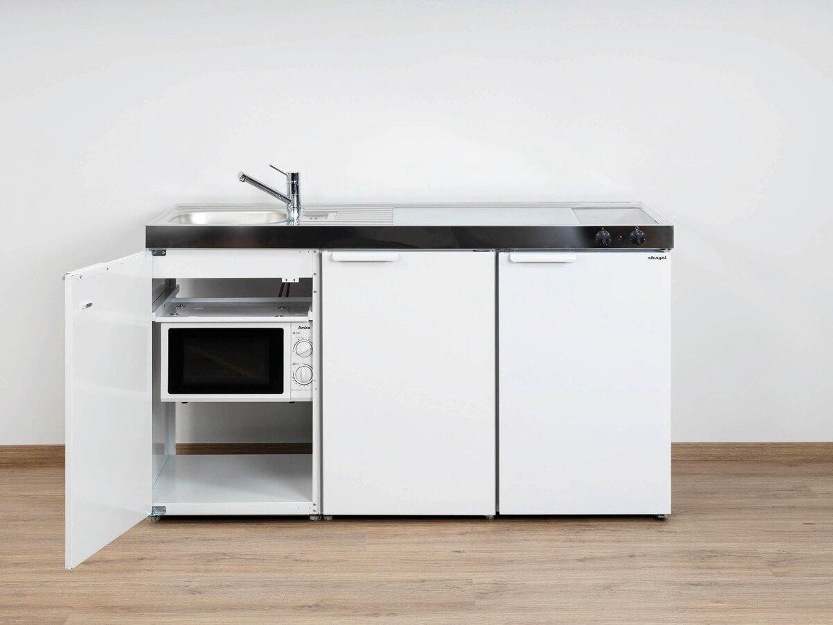Stengel Miniküche Kitchenline MKM 150 mit Kühlschrank und Mikrowelle