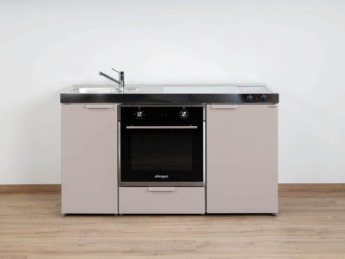 Miniküche Mit Ceranfeld Ohne Kühlschrank : Stengel singleküche mkb mit backofen kühlschrank