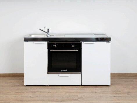 Stengel Miniküche Kitchenline MKB 150 mit Backofen und Kühlschrank