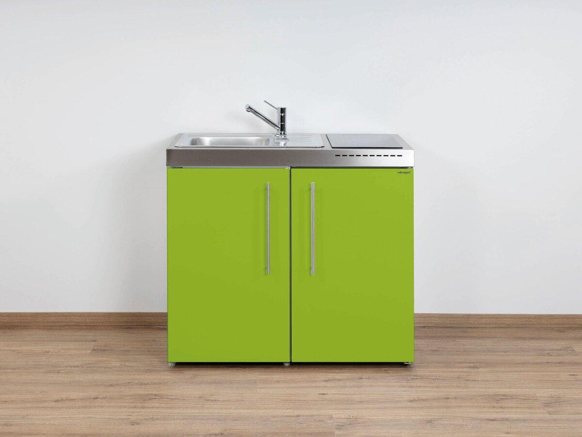 Stengel Edelstahl Miniküche Mp 100 Mit Kühlschrank