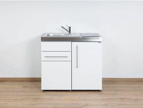 Stengel Miniküche Premiumline MP 100 S mit Kühlschrank und Schublade