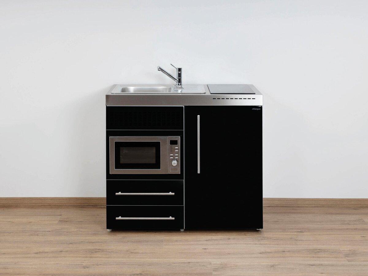 Miniküche Mit Kühlschrank Und Mikrowelle : Stengel pantryküche premiumline mpm mit kühlschrank und mikrowell