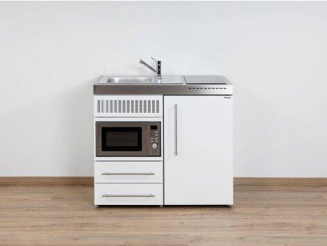Stengel Miniküche Premiumline MPM 100 Mit Kühlschrank Und Mikrowelle