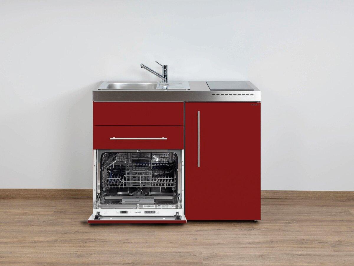 Stengel Miniküche Premiumline MPGS 110 Singleküche mit Kühlschrank und  Spülmaschine