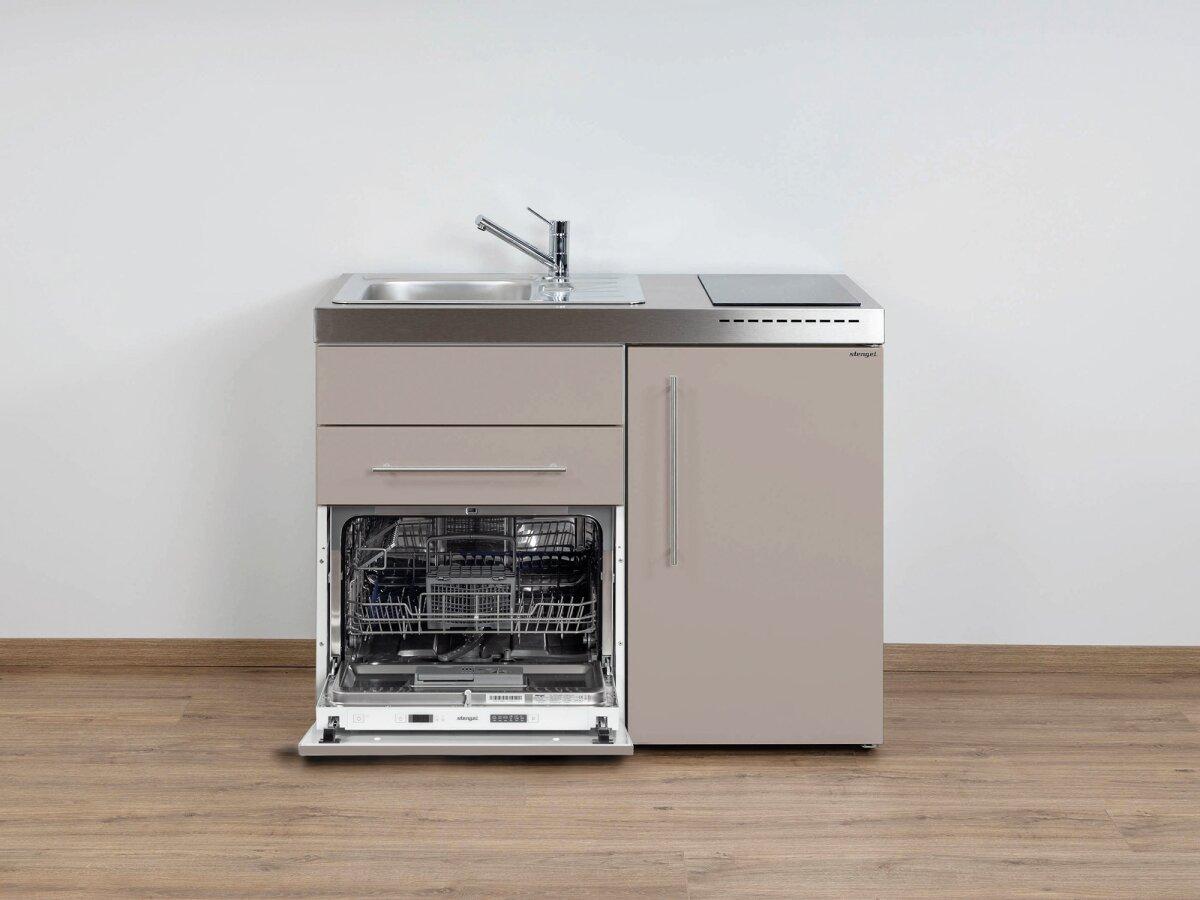 Miniküche Mit Spülmaschine : stengel singlek che mpgs 110 mit k hlschrank geschirrsp ler ~ Watch28wear.com Haus und Dekorationen