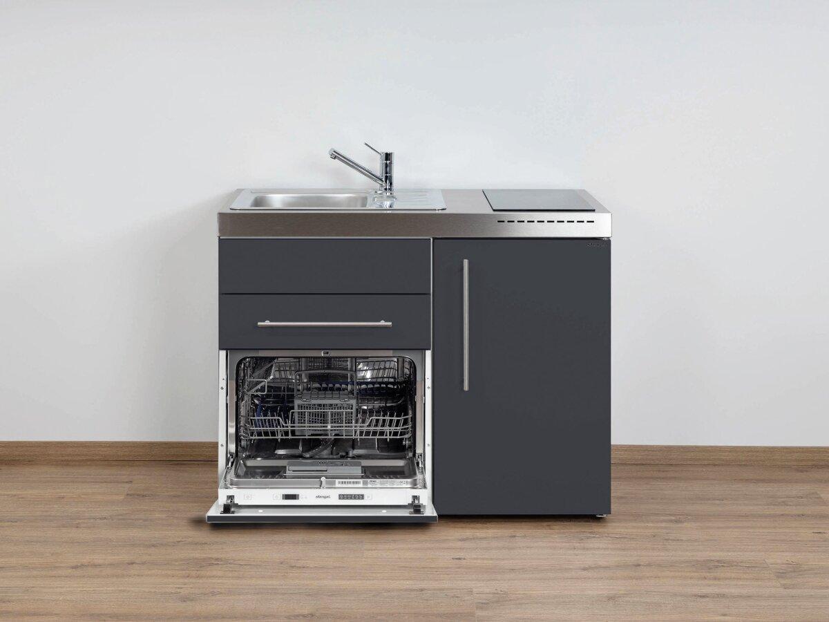 Mini Küchenblock Mit Kühlschrank : Stengel singleküche mpgs mit kühlschrank geschirrspüler