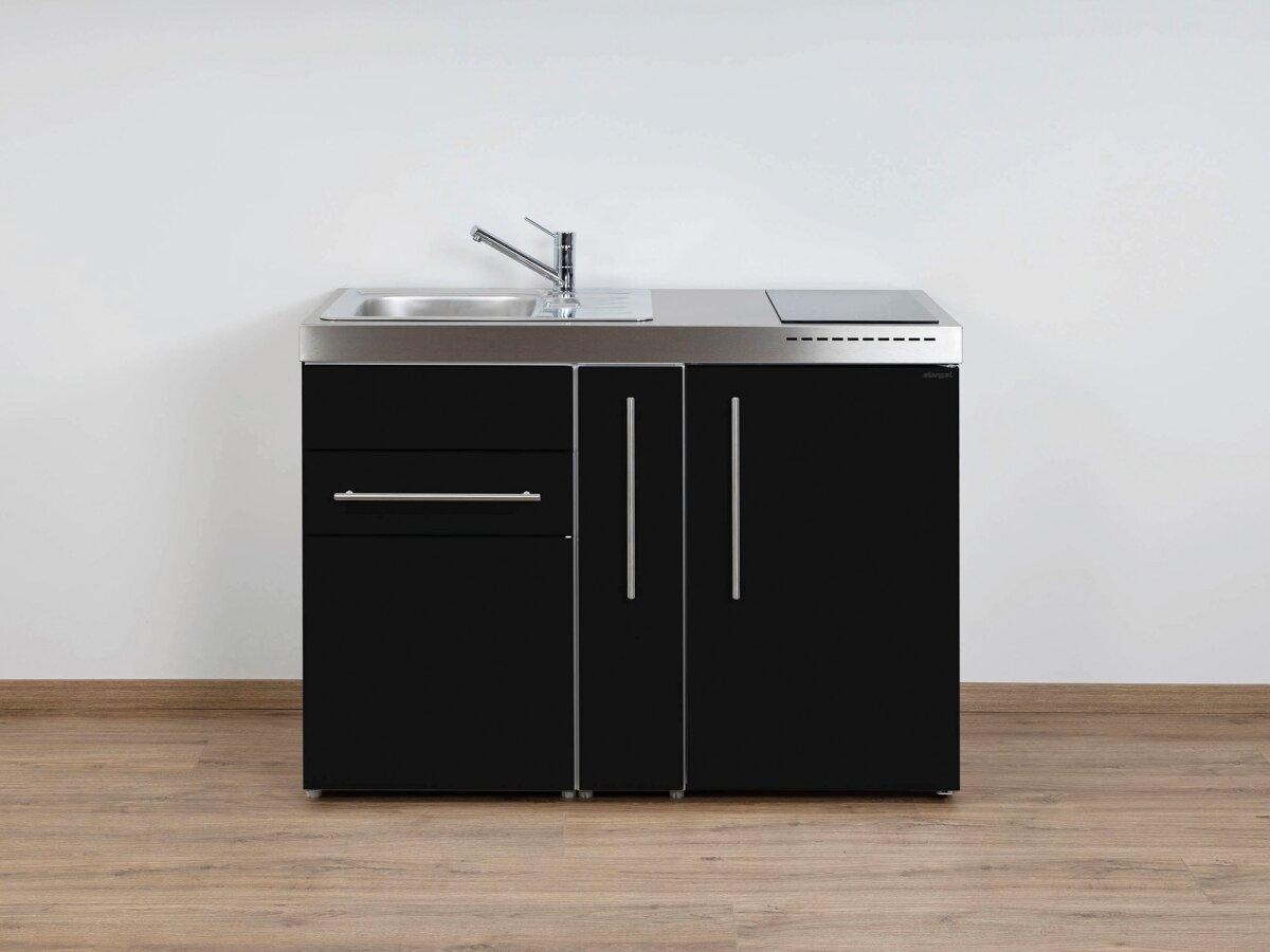 Miniküche 1 M Mit Kühlschrank : Stengel miniküche mp a m kühlschrank ausziehschrank