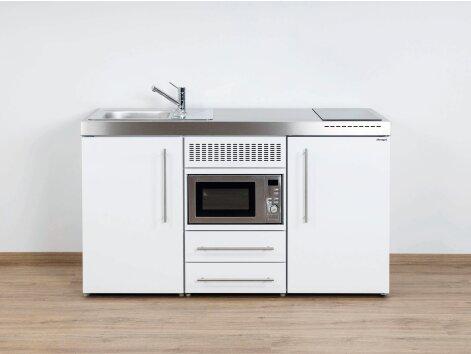 Stengel Miniküche Premiumline MPM 150 mit Kühlschrank und Mikrowelle