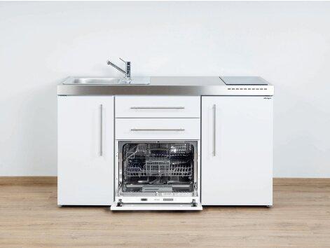 Stengel Miniküche Premiumline MPGS 150 mit Kühlschrank und Geschirrspüler