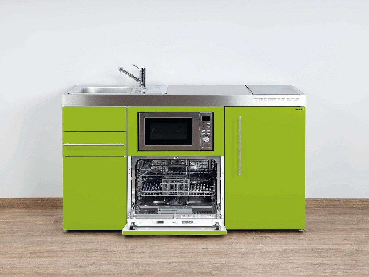 Incroyable Stengel Miniküche Premiumline MPGSM 150 Mit Kühlschrank, Geschirrspüler Und  Mikrowelle