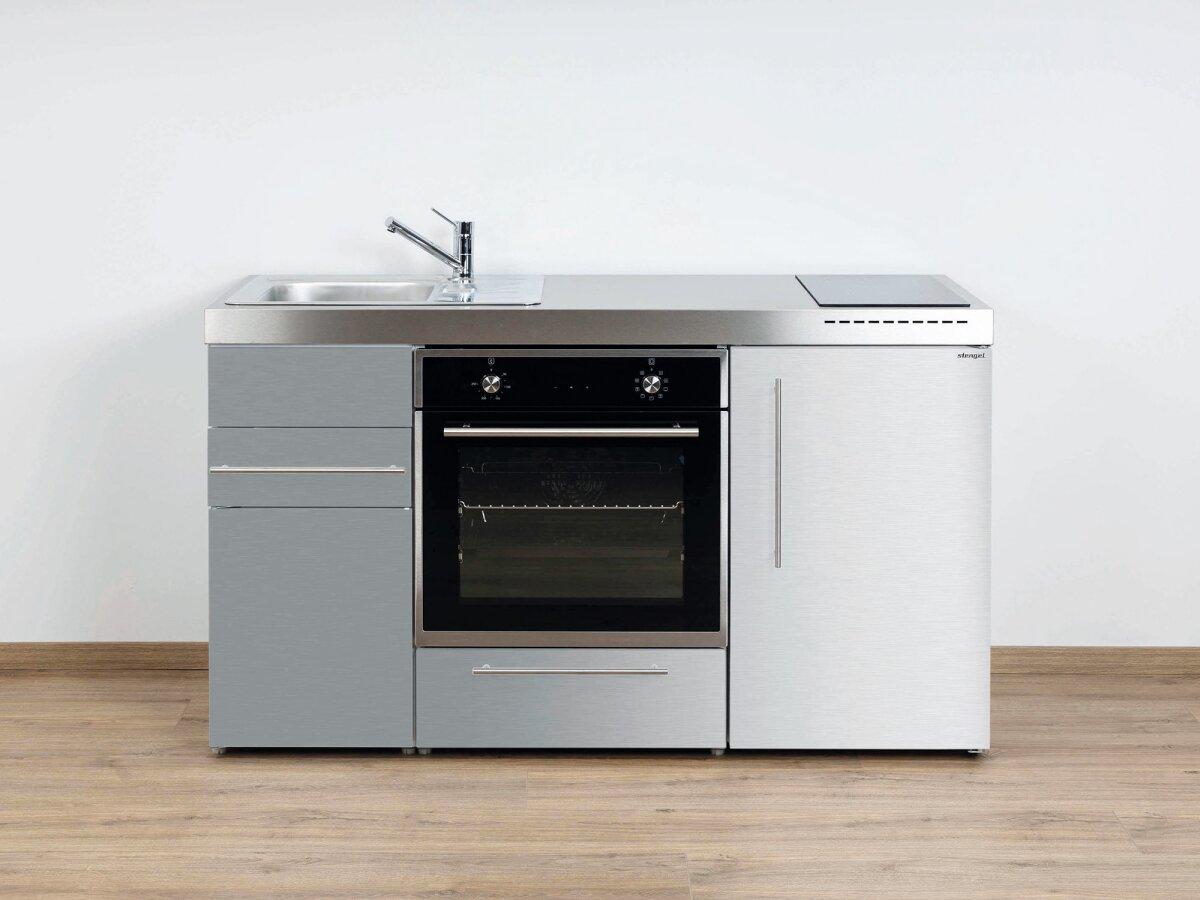 stengel edelstahl minik che mpb 150 premiumline mit backofen. Black Bedroom Furniture Sets. Home Design Ideas