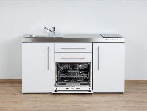 Stengel Miniküche Premiumline MPGS 160 mit Kühlschrank und Geschirrspüler
