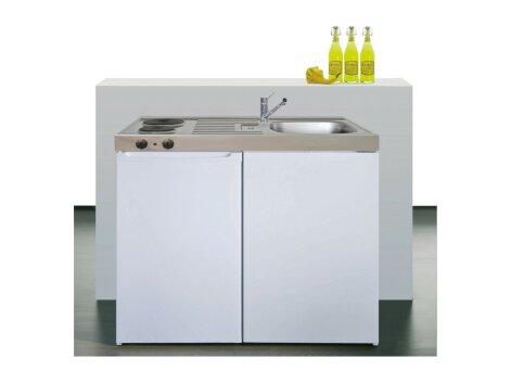 Stengel Miniküche Easyline ME 100 kleine Küchenzeile mit Kühlschrank