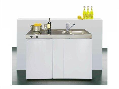 Stengel Miniküche Easyline ME 120 Küche klein mit Kühlschrank
