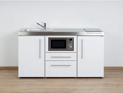 Stengel Miniküche Premiumline MPM 160 mit Kühlschrank und Mikrowelle