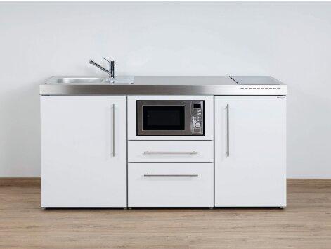 Stengel Miniküche Premiumline MPM 170 mit Kühlschrank und Mikrowelle