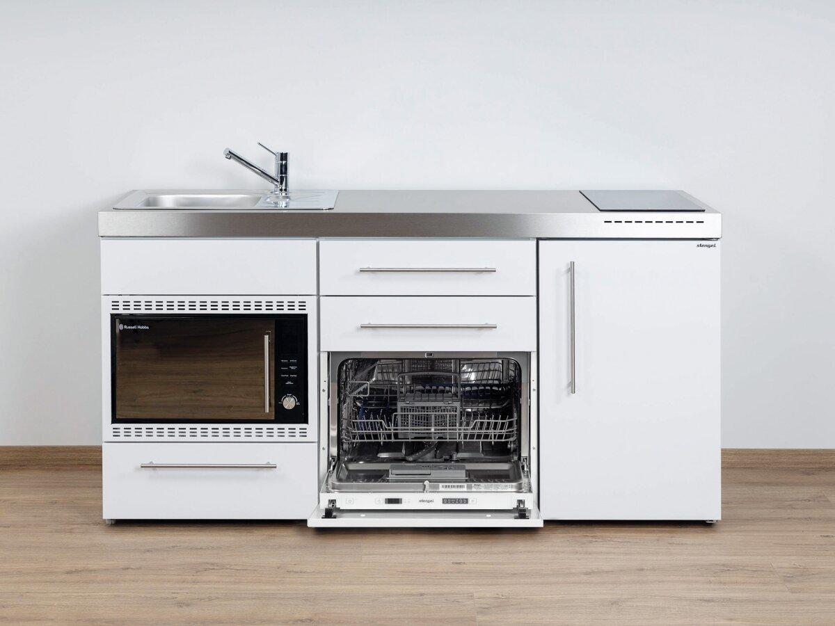 edelstahl minik che mpgsmos 170 mit mikrowelle geschirrsp ler und mik. Black Bedroom Furniture Sets. Home Design Ideas