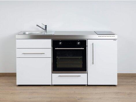 Stengel Miniküche Premiumline MPB 170 mit Kühlschrank und Backofen