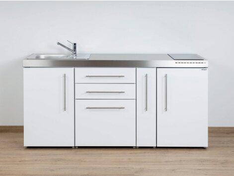 Stengel Miniküche Premiumline MP 180 A mit Kühlschrank und Apothekerauszug