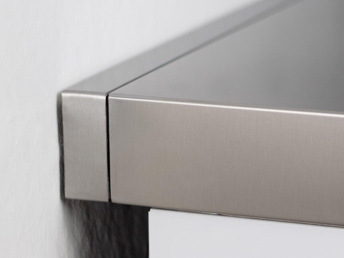 Abstandsleiste - Edelstahl 110cm breit