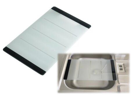 Premiumline - Schneidebrett aus Glas