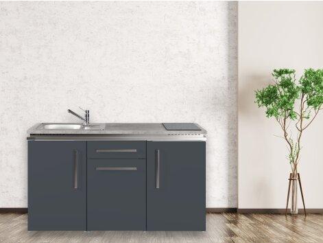 Stengel Miniküche Designline MDGS 150 mit Kühlschrank und Geschirrspüler