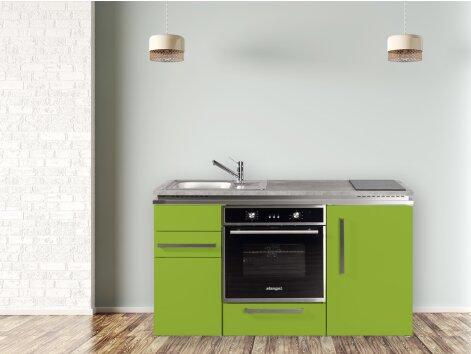 Stengel Miniküche Designline MDB 150 mit Backofen und Kühlschrank