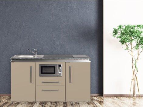 Stengel Miniküche Designline MDM 160 mit Kühlschrank und Mikrowelle