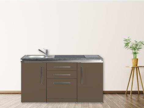 Stengel Miniküche Designline MDGS 160 mit Kühlschrank und Geschirrspüler