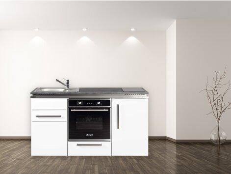 Stengel Miniküche Designline MDB 160 mit Kühlschrank und Backofen