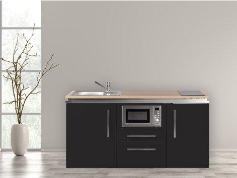 Stengel Miniküche Designline MDM 170 mit Kühlschrank und Mikrowelle