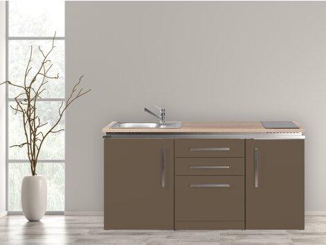 Stengel Miniküche Designline MDGS 170 mit Kühlschrank und Geschirrspüler