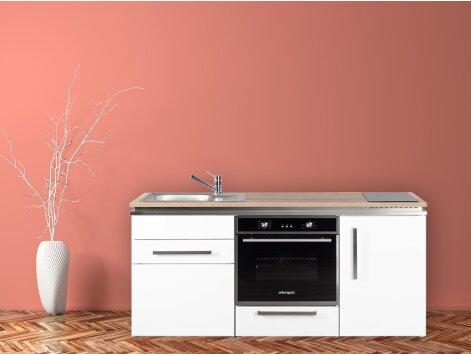 Stengel Miniküche Designline MDB 170 mit Kühlschrank und Backofen