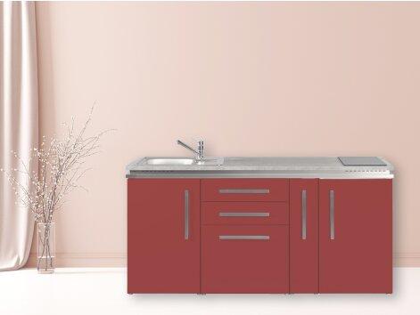 Stengel Miniküche Designline MD 180 A mit Kühlschrank und Apothekerauszug