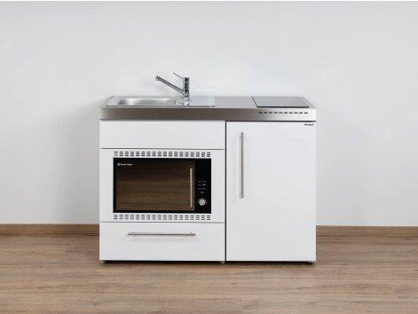 Stengel Miniküche Premiumline MPMOS 120 mit Kühlschrank und Mikrowellenofen