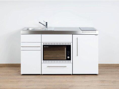 Stengel Miniküche Premiumline MPMOS 150 mit Kühlschrank und Mikrowellenofen