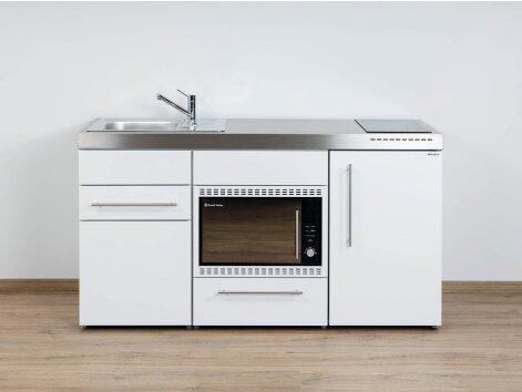 Stengel Miniküche Premiumline MPMOS 160 mit Kühlschrank und Mikrowellenofen