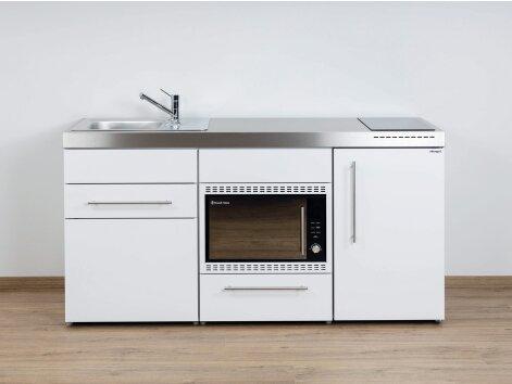 Stengel Miniküche Premiumline MPMOS 170 mit Kühlschrank und Mikrowellenofen