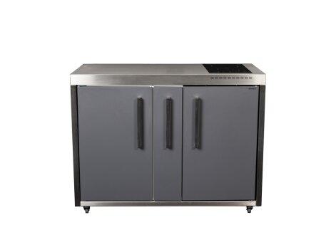Stengel Miniküche Outdoor MO 120 A ohne Spülbecken mit Apothekerauszug
